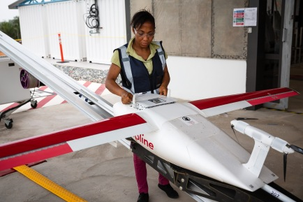 UPS medical drone ghana