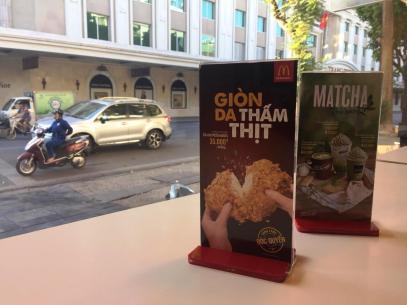 mcdonalds Hanoi vietnam nuggets