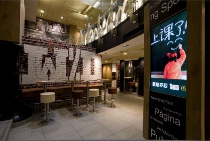 McDonald's Beijing interior