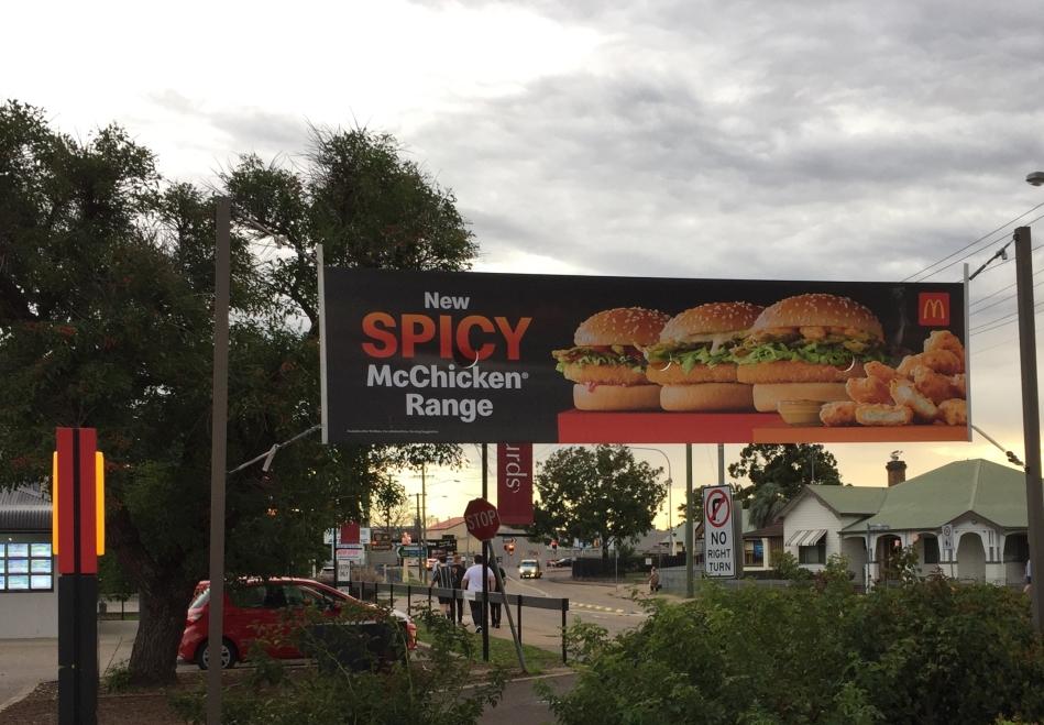 McDonald's Australia mcChicken