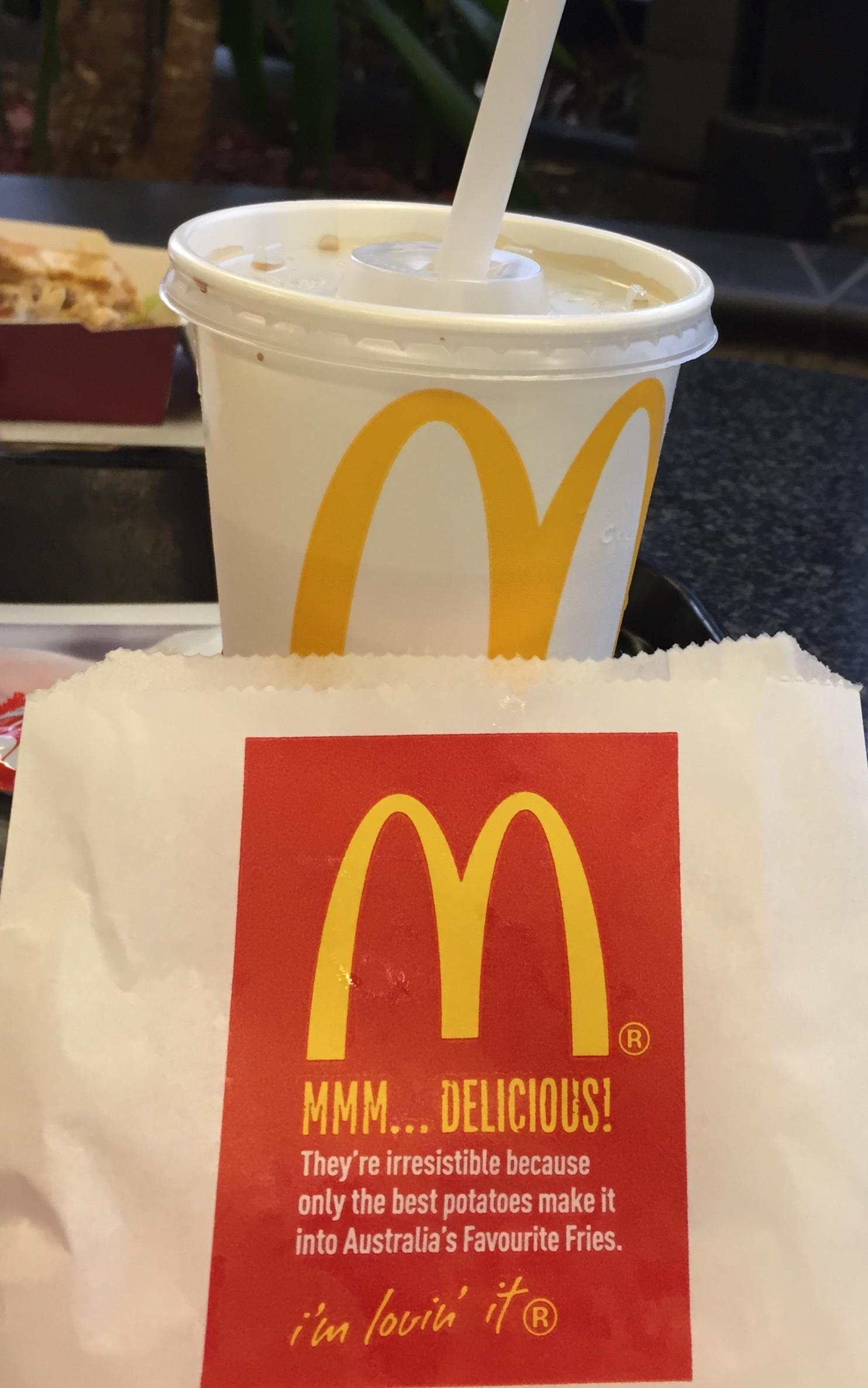 McDonald's Australia fries